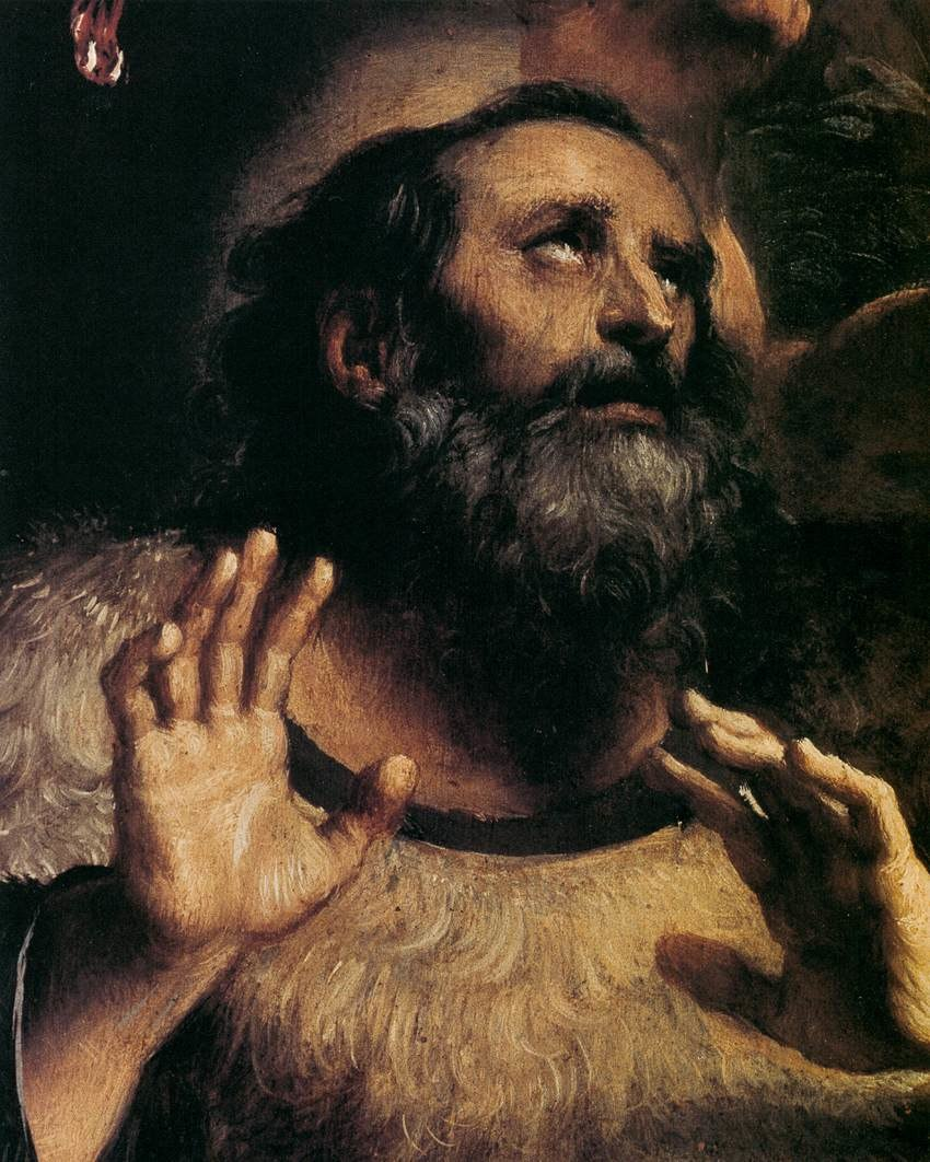 Annibale Carracci - The Temptation of St Anthony Abbot (detail) - WGA4426