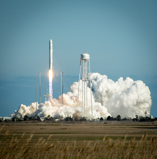 Image result for cygnus mass simulator launch