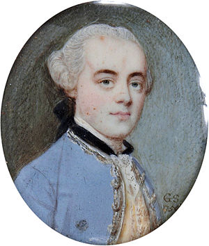 Anthony Aufrère - Anthony Aufrère Sr. (1730–1814) (Gervase Spencer, 1756). Aufrère's father.