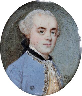 Anthony Aufrère - Anthony Aufrère Sr. (1730–1814) (Gervase Spencer, 1756). Aufrère's father.