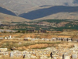 Antioch of Pisidia - Ruins at Antioch of Pisidia