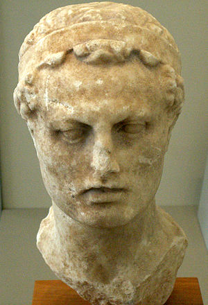 2nd century BC - Bust of Antiochus IV at the Altes Museum in Berlin.
