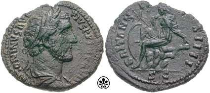Antoninus Pius Æ As RIC 0934