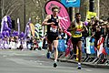Anuradha Cooray during 2013 London Marathon (2).JPG