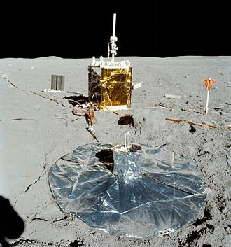 Apollo Lunar Surface Experiments Package - ALSEP of the Apollo 16 mission