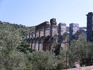 aquaduct bij Moria