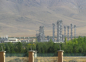 IR-40 - Heavy Water Production Plant near Arak