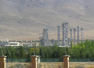 IR-40 - Heavy Water Production Plant near Arak