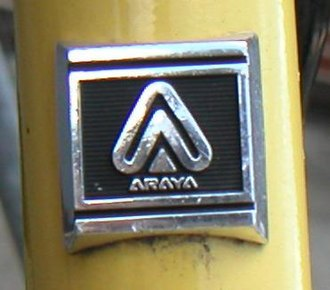 Head badge - Image: Araya head badge
