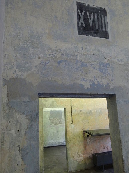 File:Architectural Detail - Museum Complex - Dachau Concentration Camp Site - Dachau - Bavaria - Germany.jpg
