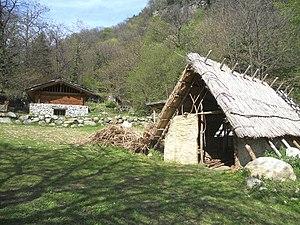 Rock art Natural reserve of Ceto, Cimbergo and Paspardo - Reconstruction of Prehistoric Village