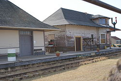 Argo Train Station