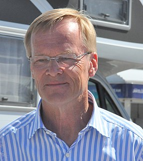 Ari Vatanen politician and rally driver, Member of the European Parliament, winner of the 1981 World Rally Championship for Drivers
