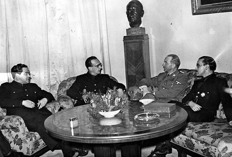 Arias Salgado reunión nazi Berlín