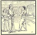 Arjuna asks King of Manipura for his Daughter.jpg