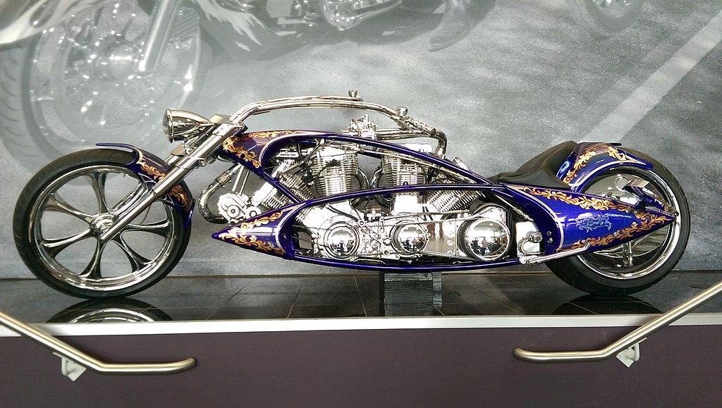 Painting Metal Motorcycle Parts