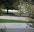Arlington National Cemetery - JFK Grave Site rear wall - 2011.jpg
