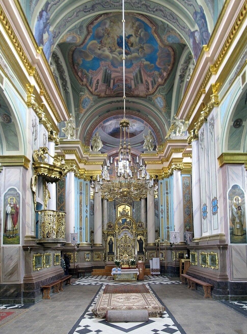 Armenian church Stanislawow