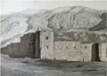 Armenian monastery in the town of Bitlis 1901.png
