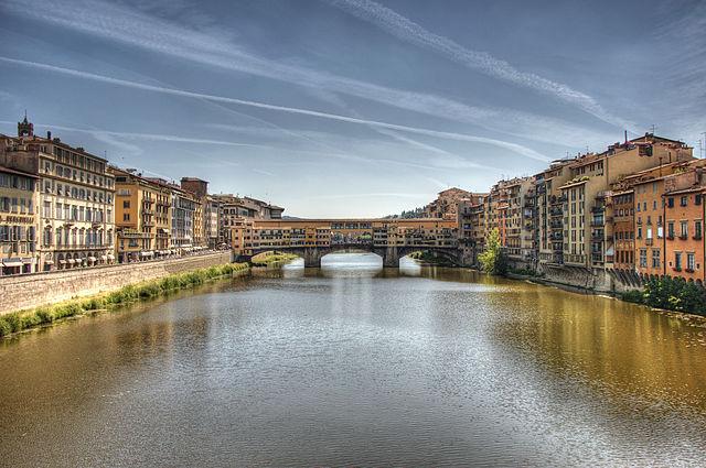 Arno River and Ponte Vecchio, Florence