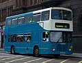 Arriva bus 7421 Volvo Olympian East Lancs E Type M685 HPF in Newcastle 9 May 2009 pic 1.jpg