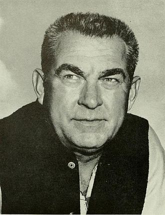 West Virginia Mountaineers football - Art Lewis, WVU head coach (1950–59) and the program's 3rd all-time leader in wins (58).