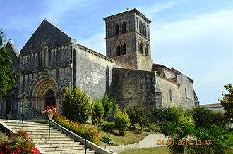 Arthenac - The Church of Saint Martin