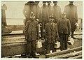 Arthur Havard, a young driver, Shaft -6, Pennsylvania Coal Company. LOC cph.3a24705.jpg