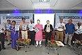 Arup Roy Releasing Booklet with Senior Members - Inaugural Session - SPORTSMEDCON 2019 - SSKM Hospital - Kolkata 2019-03-17 3306.JPG
