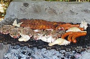 Chilean cuisine - Image: Asado Chileno