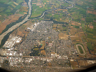 Ashburton, New Zealand Secondary urban area in Canterbury, New Zealand