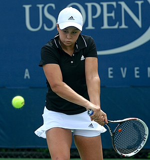 Ashleigh Barty - Barty at the 2013 US Open