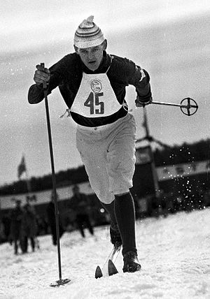 1935 in Sweden - Assar Rönnlund in 1961.