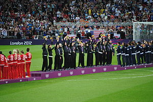 Pia Sundhage - United States women's national team at the 2012 Summer Olympics