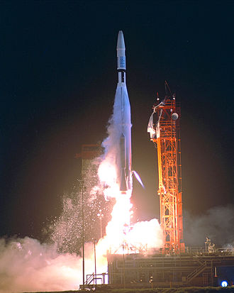 Mariner program - Launch of Mariner 1 in 1962