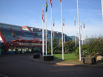 National Exhibition Centre - NEC Atrium entrance 2 (2005)