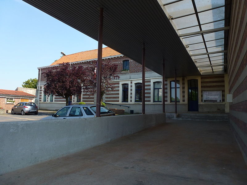 Aubry-du-Hainaut (Nord, Fr) mairie