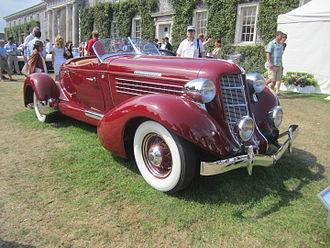 Auburn Automobile - 1935 Auburn 851 Speedster