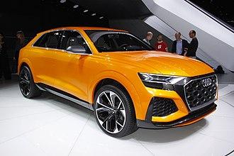 Audi Q8 - Image: Audi Q8 Sport Concept (411)