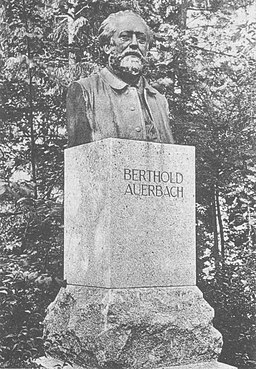 Auerbach-Denkmal in Stuttgart-Bad Cannstatt, 1909