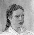 August Jerndorff - Studie af en ung pige - KMS3181 - Statens Museum for Kunst.jpg