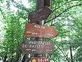 Aulus-les-Bains Panneau d'information sur le chemin de cascade d' ars.jpg