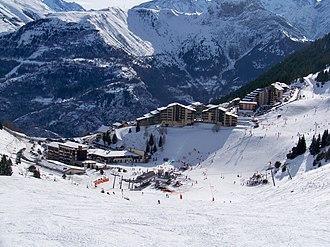 Auris, Isère - Auris from the slopes