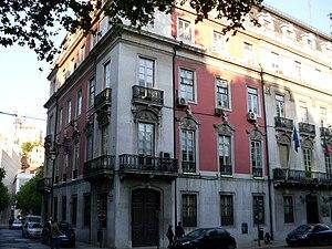 Maria Pia de Saxe-Coburgo e Bragança - Number 26 Avenida da Liberdade, in Lisbon, where Maria Pia de Bragança was born.