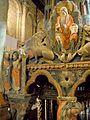 Avila - Basilica de San Vicente, interiores 32 (Sepulcro de los Santos).jpg