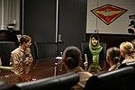 Awardee of the International Women of Courage visits 3rd MAW 150309-M-XW721-001.jpg
