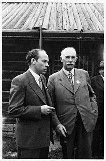 Einar Gustafsson Swedish farmer, politician and county governor