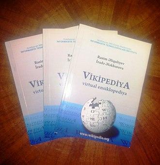 Azerbaijani Wikipedia - Azerbaijani Wikipedia books.