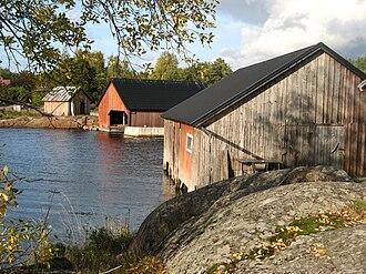 Vårdö - Boathouses in Vårdö