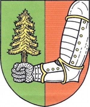 Býšovec - Image: Býšovec, znak